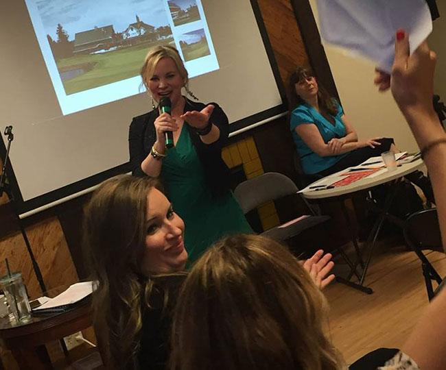 Molly May benefit auctioneer specialist
